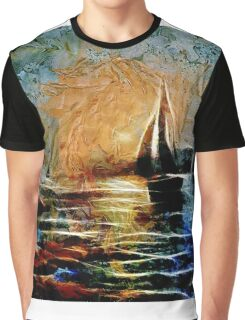 Boats in the sun Graphic T-Shirt