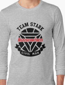 Registration Forces Team Stark Long Sleeve T-Shirt