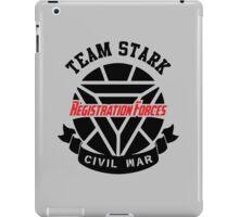 Registration Forces Team Stark iPad Case/Skin