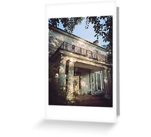The House On Reese Road Greeting Card