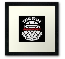 Registration Forces Team Stark Framed Print