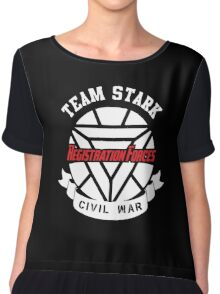 Registration Forces Team Stark Chiffon Top