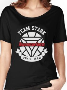 Registration Forces Team Stark Women's Relaxed Fit T-Shirt