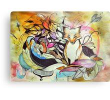 A fox among feathers Metal Print