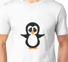 Cute Penguin Girl Unisex T-Shirt