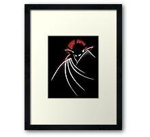 Strangeman The Animated Series Framed Print