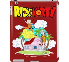 Funny Dragon Rick iPad Case/Skin