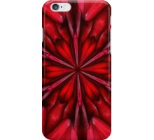 Robust red iPhone Case/Skin