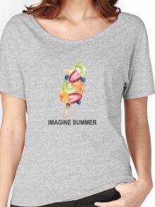 Imagine Summer Women's Relaxed Fit T-Shirt