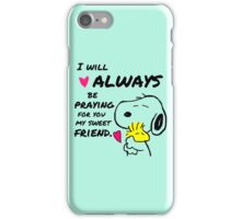 Snoopy Best Friend Quotes iPhone Case/Skin