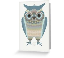 WHOOTEE Greeting Card