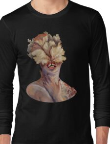 nude portrait Long Sleeve T-Shirt
