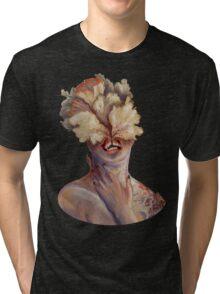 nude portrait Tri-blend T-Shirt