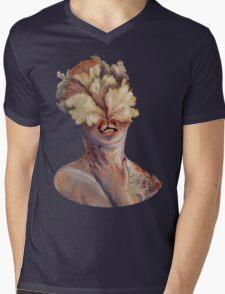 nude portrait Mens V-Neck T-Shirt