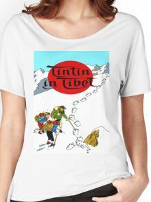 Tintin in Tibet Women's Relaxed Fit T-Shirt