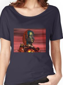 ARES CYBORG FROM HYPERION WORLD Sci-Fi Movie Women's Relaxed Fit T-Shirt
