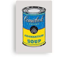 Adamantium Soup Canvas Print