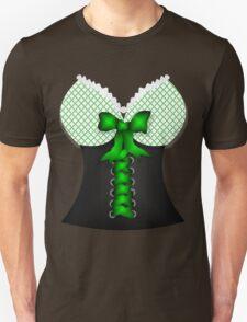 St patricks day vintage Irish traditional leprechaun corset  Unisex T-Shirt