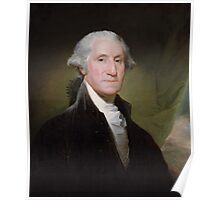 George Washington Painting Poster