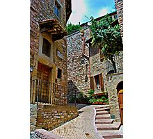 Assisi  Stairs Photographic Print