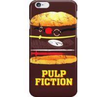 Pulp Fiction Burger iPhone Case/Skin
