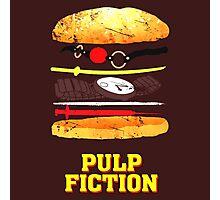 Pulp Fiction Burger Photographic Print