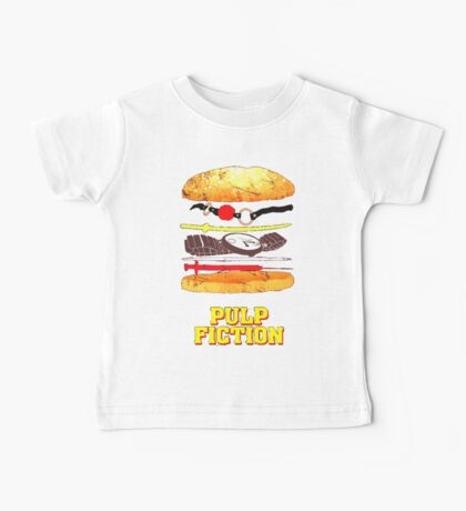 Pulp Fiction Burger Baby Tee