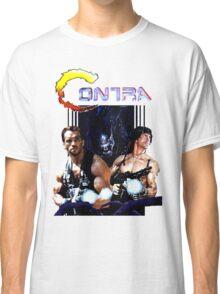 Contra Game Parody Classic T-Shirt