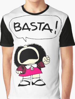 Mafalda Una - Basta Graphic T-Shirt
