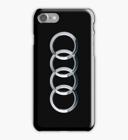 Audi logo  iPhone Case/Skin