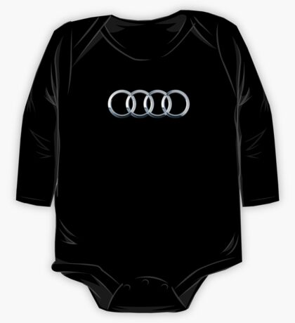 Audi logo  One Piece - Long Sleeve