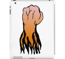 Fire fist iPad Case/Skin