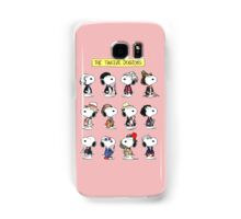 Snoopy Doctors Collage Samsung Galaxy Case/Skin