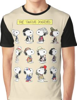 Snoopy Doctors Collage Graphic T-Shirt