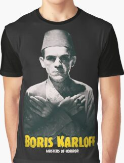 Boris Karloff Graphic T-Shirt