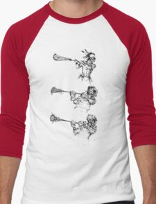 The Perfect Form Men's Baseball ¾ T-Shirt