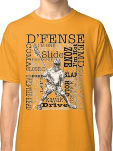 Word Montage-D'FENSE (border) Classic T-Shirt