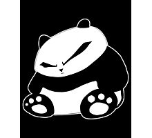 Angry Panda Photographic Print