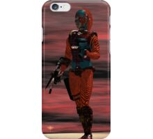 ARES CYBORG FROM HYPERION WORLD Sci-Fi Movie iPhone Case/Skin