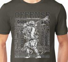 Word Montage-OFFENSE (border) Unisex T-Shirt