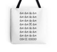 Doctor who Theme Tote Bag