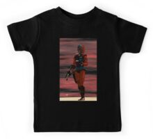 ARES CYBORG FROM HYPERION WORLD Sci-Fi Movie Kids Tee
