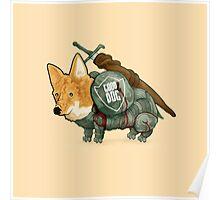 Good Dog! w/ Sword by Devon Baker Poster