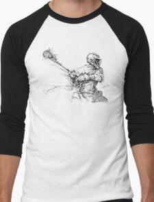 Crank (Black Ink) Men's Baseball ¾ T-Shirt
