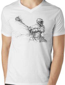 Crank (Black Ink) Mens V-Neck T-Shirt