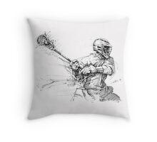 Crank (Black Ink) Throw Pillow