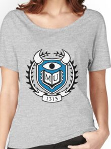 Monsters University Logo Women's Relaxed Fit T-Shirt