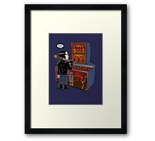 Whack a survivor Framed Print