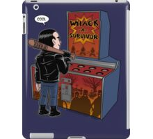 Whack a survivor iPad Case/Skin