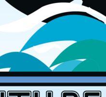Surfing SOUTH BEACH MIAMI FLORIDA Surf Surfer Surfboard Waves Ocean Beach Vacation Sticker
